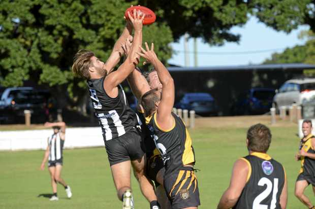 FLYING HIGH: Grafton Tigers will be hoping to reverse the result of their first Cross-Conference outing against Byron Bay when they meet Lismore Swans tomorrow.