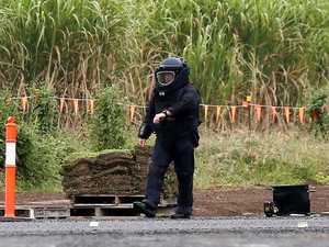 Homemade bomb left on highway sparks hunt