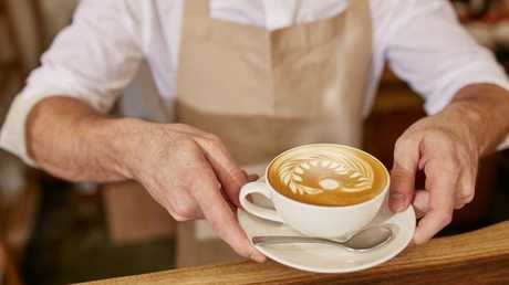Coffee is expensive enough in Australia without having to shell out a tip as well. Source:Supplied