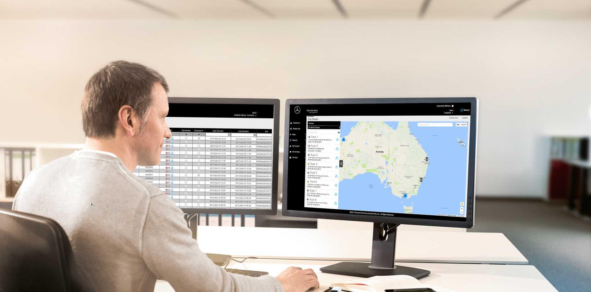 Mercedes-Benz Trucks will launch Australian-developed telematics system in Brisbane