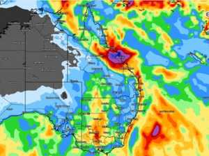 Whitsundays, Mackay, CQ to cop heaviest of today's rain
