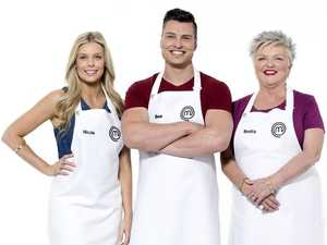 MasterChef's oldest contestant out after prawn dish disaster