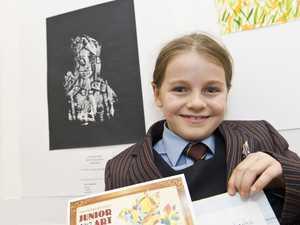 Junior artists recognised