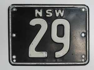 PRICE OF TIN: Australian auction record for a number plate is smashed as NSW 29 raises $745,000 at Shannons Sydney Autumn Classic Auction