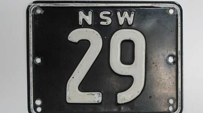 REVENUE RAISER: Auction today could see a new Australian record for a number plate sold at auction. But is over half a million dollars right for a bit of tin?