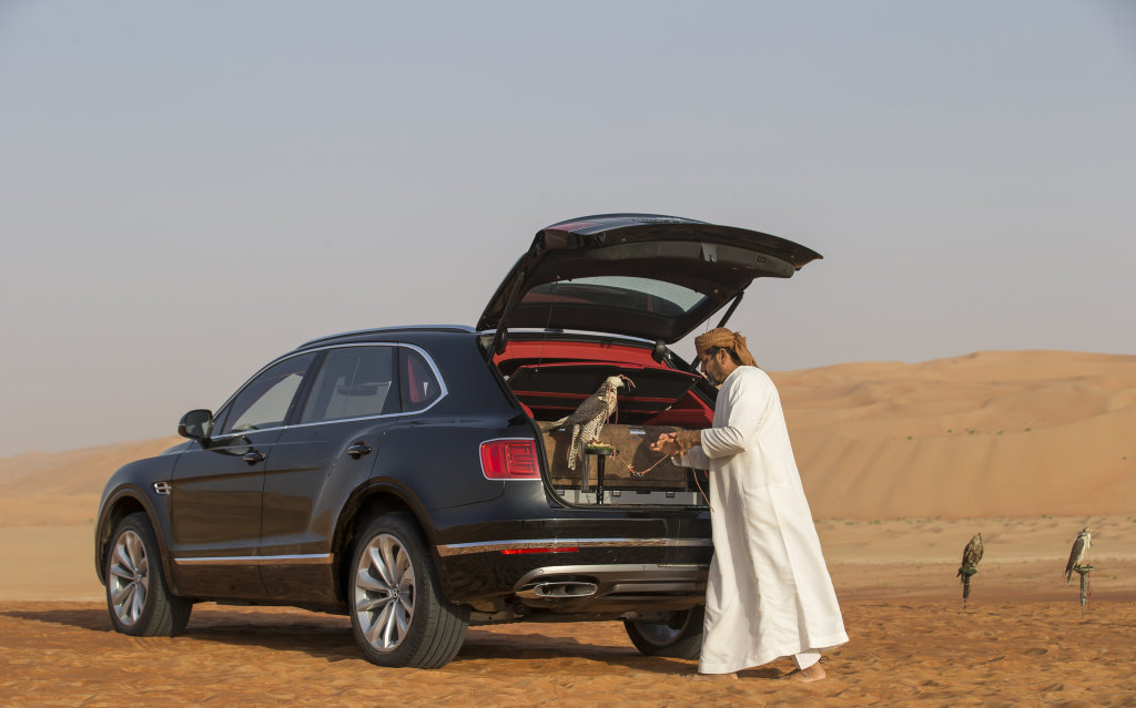 Bentley Bentayga Falconry by Mulliner.