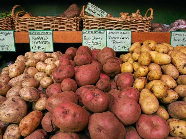 Potatoes are one of the easiest crops to grow and now is the time to begin planting.