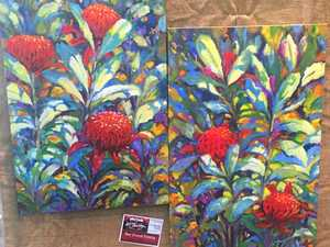 Colourful array of stunning art