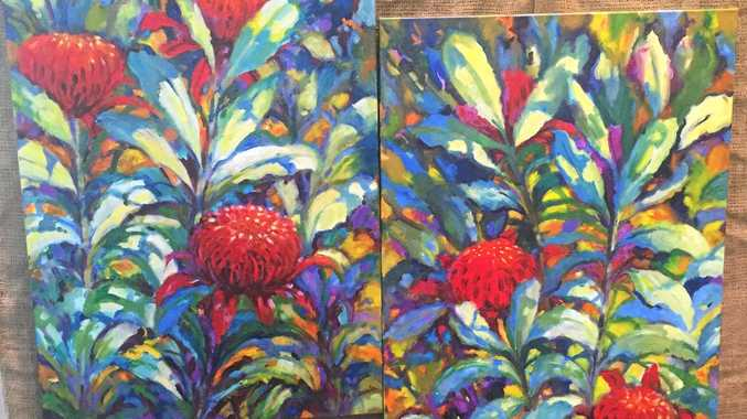 BLOOMING BEAUTIFUL: A winning entry from last year's Blackwater art exhibition.