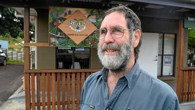 PASSIONATE LOCAL: Maleny man Jonathan Waites has lived in with his family in two different community settlement co-operatives.