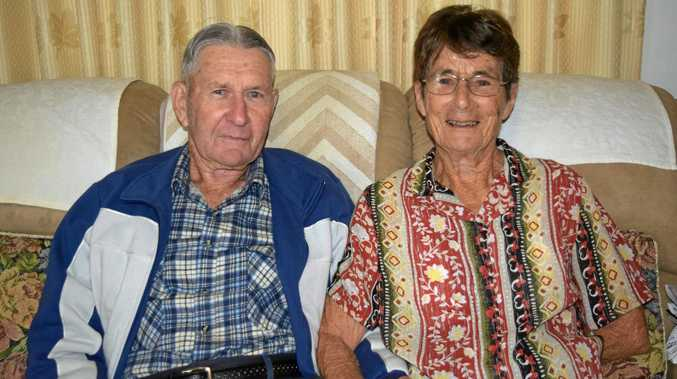 LONG-LASTING LOVE: Gordon and Shirley Smethurst celebrated their 60th wedding anniversary on May 18.