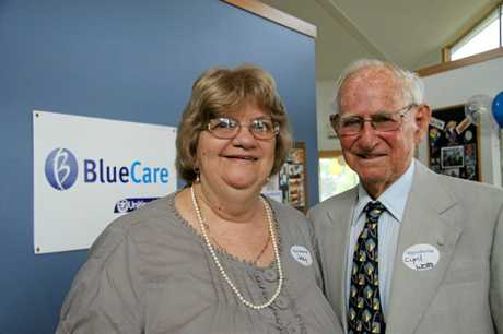 Cyril and Joycelyn at Blue Care Bundaberg Allied Health Services' 25th birthday.