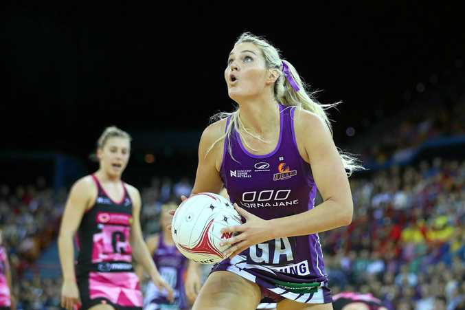 UPHEAVAL: The Firebirds' Gretel Tippett is looking forward to 2018 with great optimism.