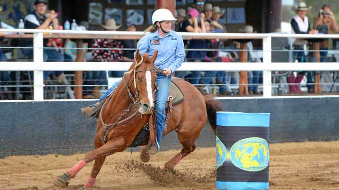 GOOD CHANCE: Emerald's Ellysa Kenny, who will ride two horses in the weekend's Futurity, will start among the favourites at Paradise Lagoons.