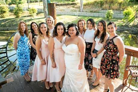 The couple held an intimate ceremony, inviting 60 of their closest family and friends to attend.