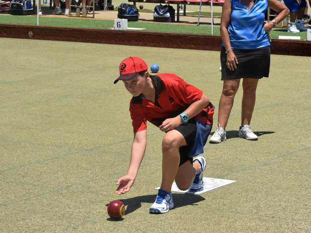 Dalby 13-year-old Jake Rynne is the new North Toowoomba Bowls Club champion.