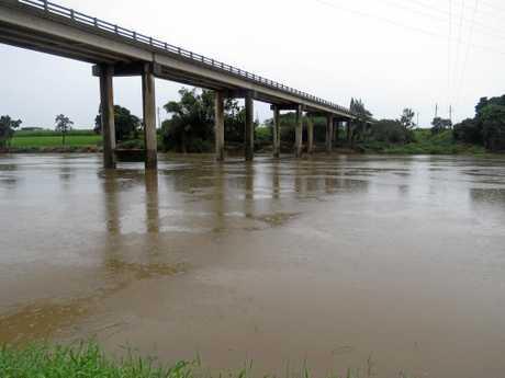 The Pioneer River at Balnagowan boat ramp, Friday, May 19, 2017