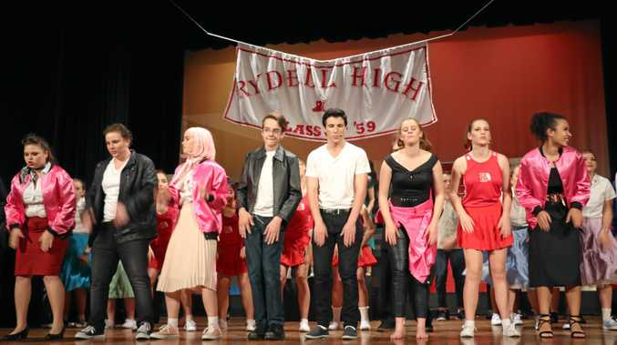 Catch Scots PGC performing Grease the Musical tonight.