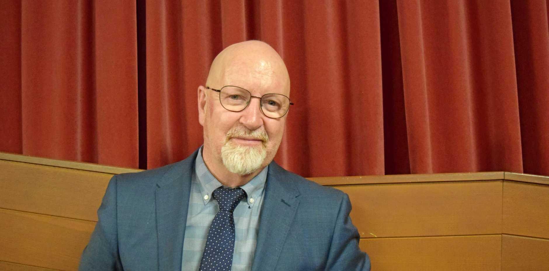 STEMMING THE TIDE: Ex-Bundaberg psychologist Dr Brian Sullivan believes violent men need rehabilitating to stop family violence.