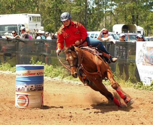 GIDDY UP: Local lad Jacob Kattenberg has qualified to represent Australia at the 2017 NBHA Youth World Championships in Perry Georgia, USA.