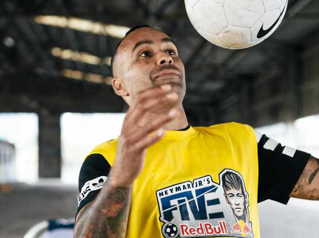 EXCITED: Archie Thompson.