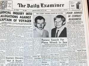 BACKWARD GLANCES: News from 50 years ago