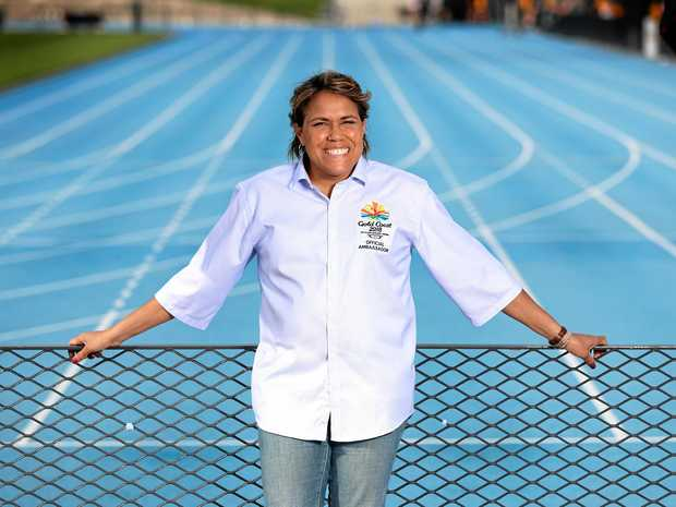 Former track and field athlete Cathy Freeman is a 2018 Gold Coast Commonwealth Games ambassador.