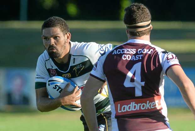 CLUB CENTURION: Ipswich Jets goal-kicker Wes Conlon is one point away from bringing up his 100th point for Ipswich when they take on the PNG Hunters this afternoon.