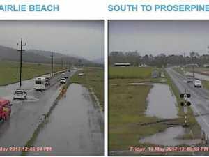 Whitsunday roads still open after rain