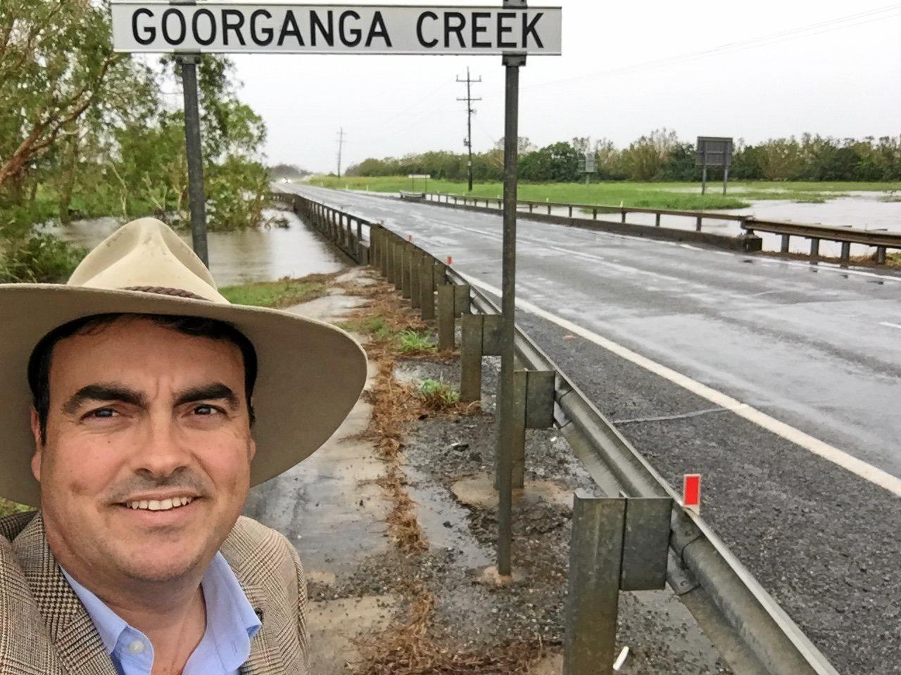 Whitsunday MP Jason Costigan wants to floodproof roads.