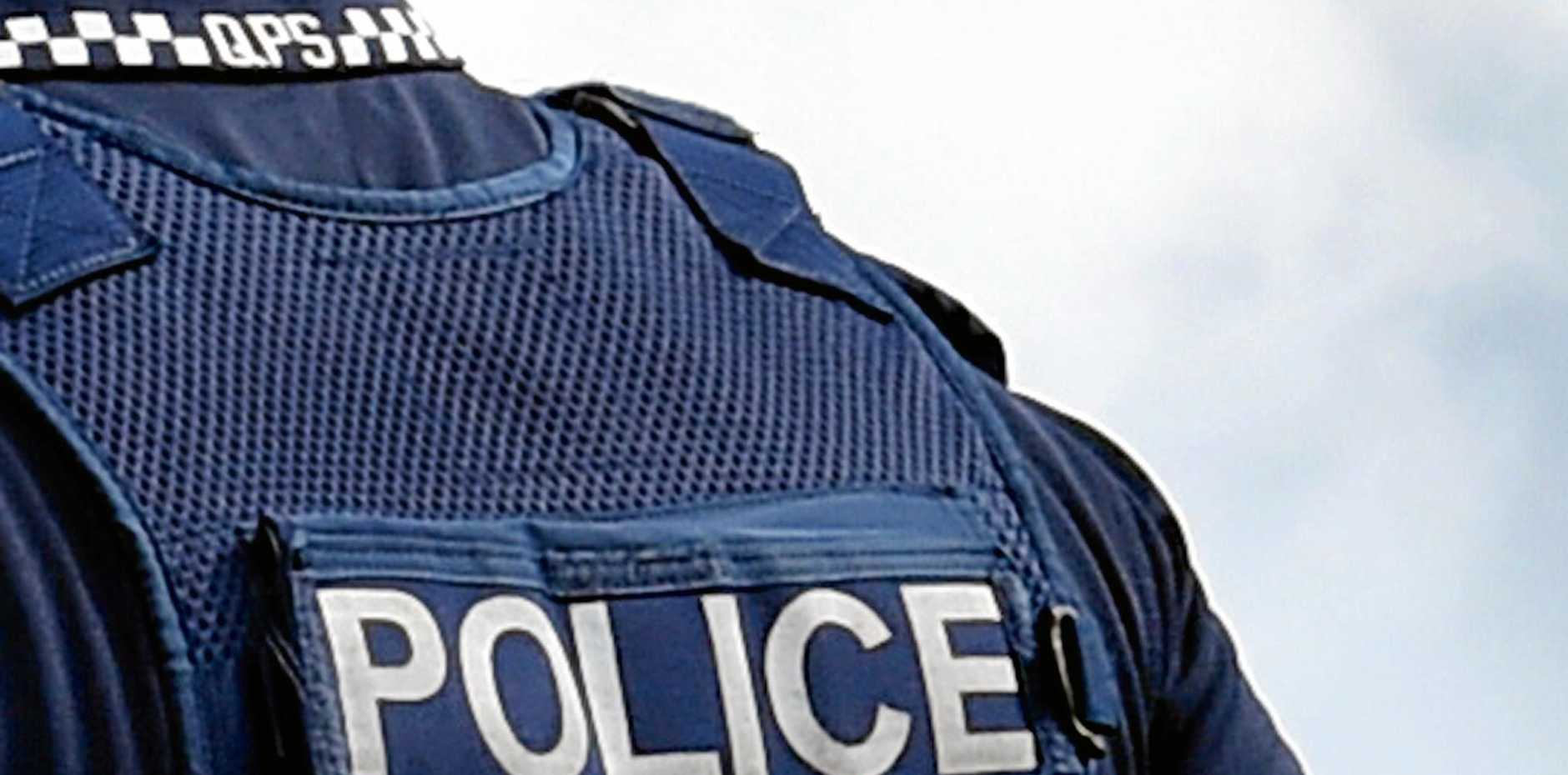 A Rockhampton man with hepatitis C spat on a police officer.
