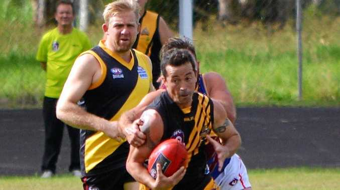 Ben Kelly was amongst the Tigers' best against Lismore/Casino