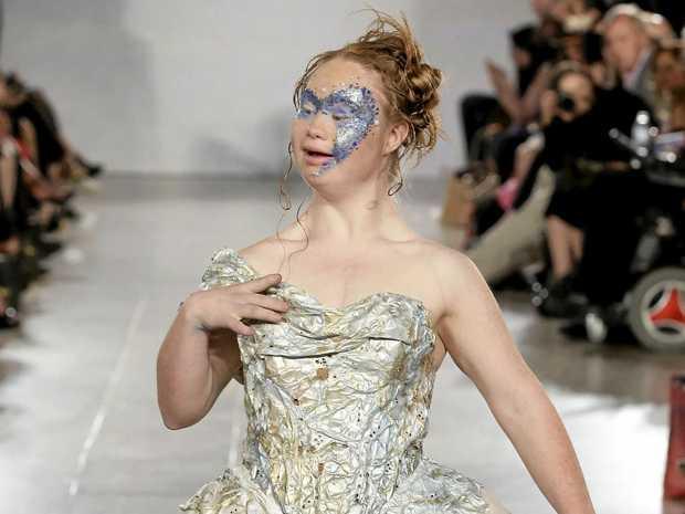 Australian model Madeline Stuart.
