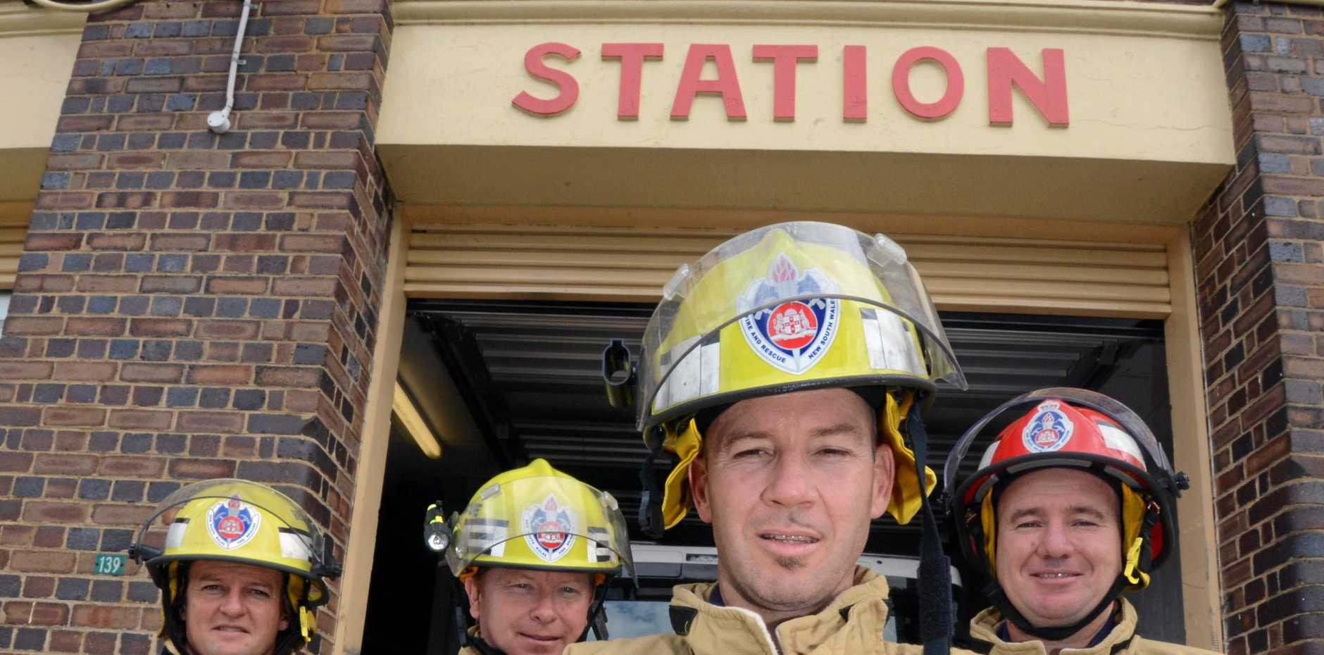 File photo from the Lismore Fire Station. Stations across the state will be open to the public on Saturday.