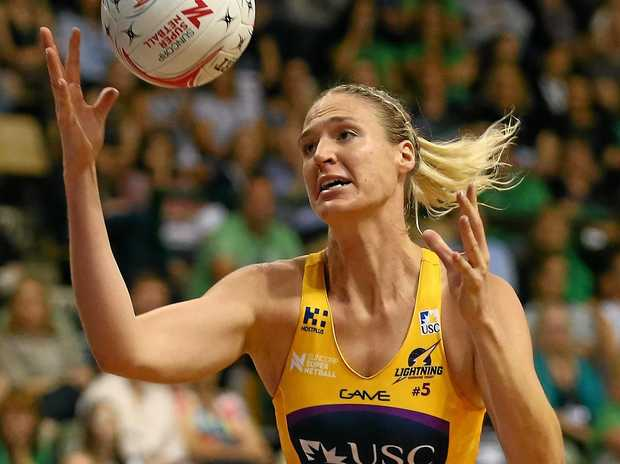 Caitlin Bassett of the Sunshine Coast Lightning.