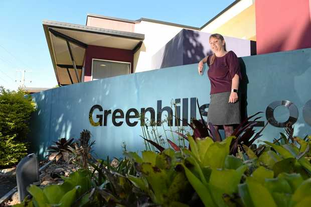 ROAD TO RECOVERY: Jacquie Everson pictured outside the front of the Greenhills Lodge Residential Aged Care Service.
