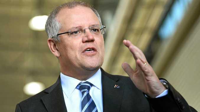 Australian Treasurer Scott Morrison.