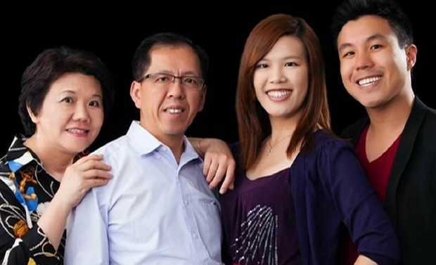 NSW Police employee Curtis Cheng (second from left) was shot dead by radicalised teenager Farhad Jabar in 2015. Pictured with his family.