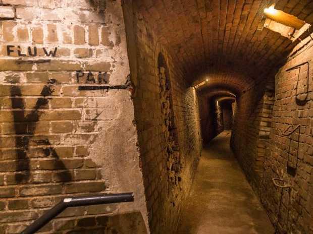 A hidden Nazi bunker has been discovered under Netherlands.