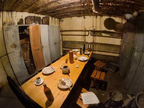 Inside one of WW2 Nazi Bunker found in the Dutch countryside.