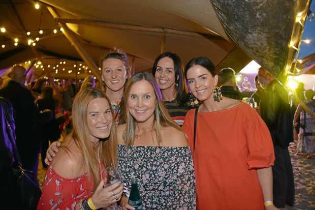 (L-R) Shannyn Leach, Kalya Perry, Chrissy Hurley, Shendan Jones and Alanna Jones.