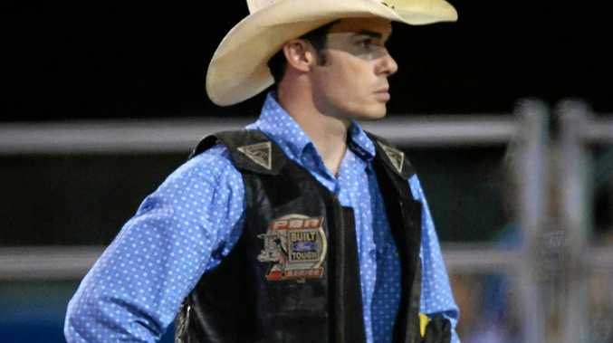 Reigning PBR champion Cody Heffernan will be in action at the Great Western Hotel tonight.
