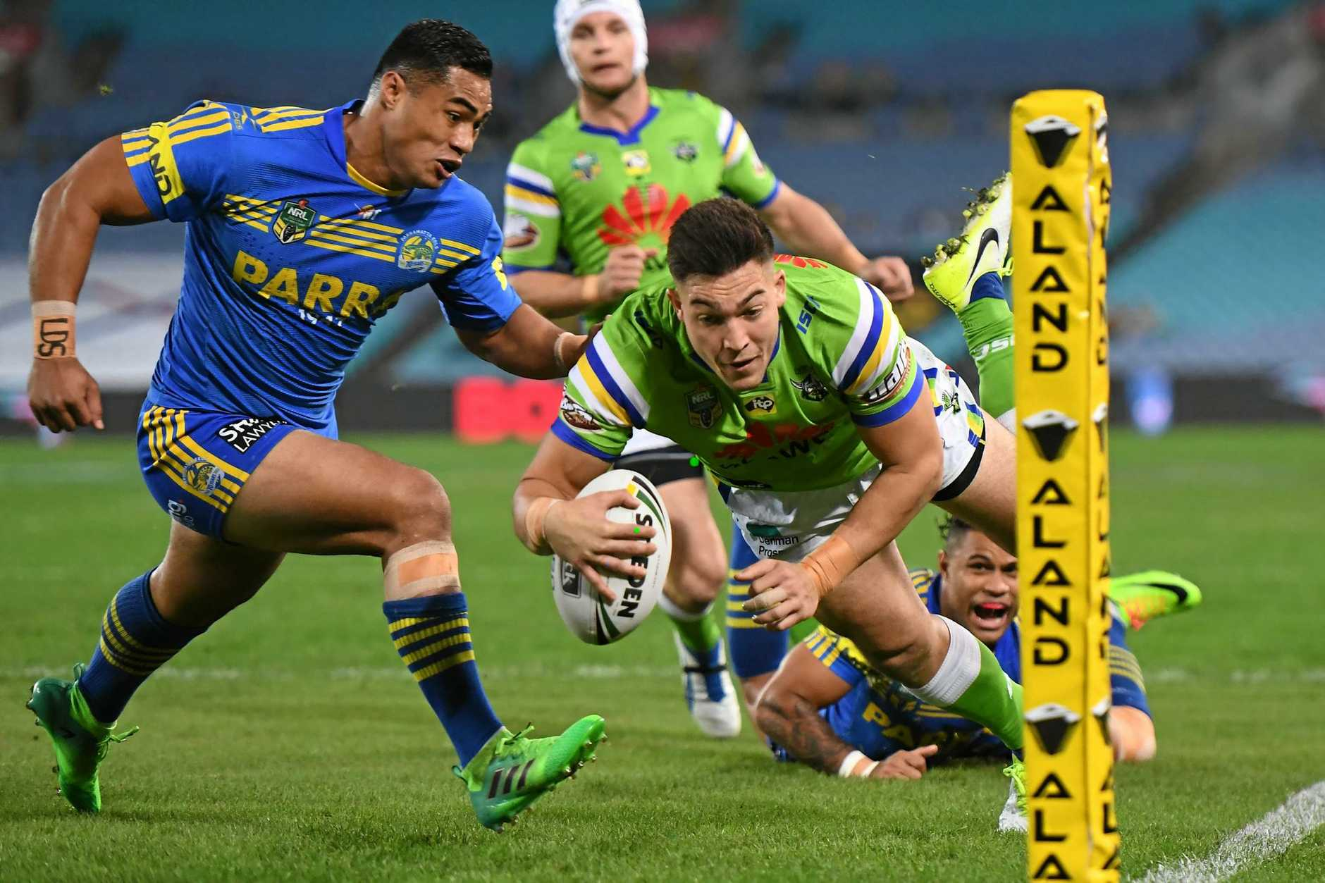Nick Cotric could line up at No.1 for the Raiders.