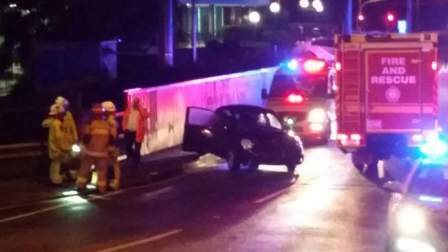 Woman hit by car, thrown onto train tracks | Chronicle
