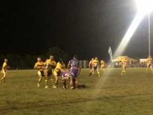 The action from the Legends of League in Bowen.