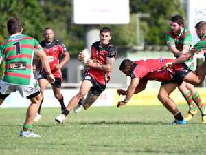 THROUGH DEFENCE: Western Suburbs Trent Broadhurst