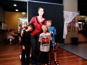 Emmet, Robyn, Parker and Harrison Heath at the