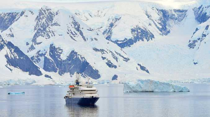 Cruising to Antarctica is now an option for cruise lovers and, bottom right, barge cruising is becoming more popular.