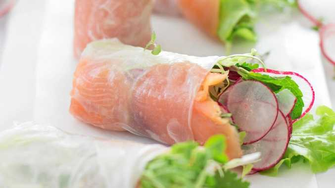 These salmon rolls are a perfect dish for entertaining.