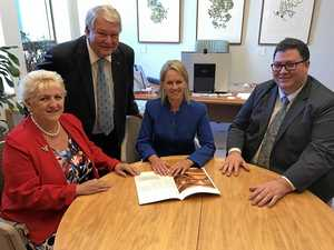 Capricornia MP Michelle Landry, Flynn MP Ken O'Dowd, Minister for Regional Development Fiona Nash